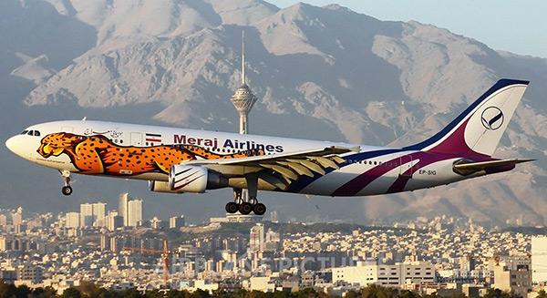 معرفی شرکت هواپیمایی معراج