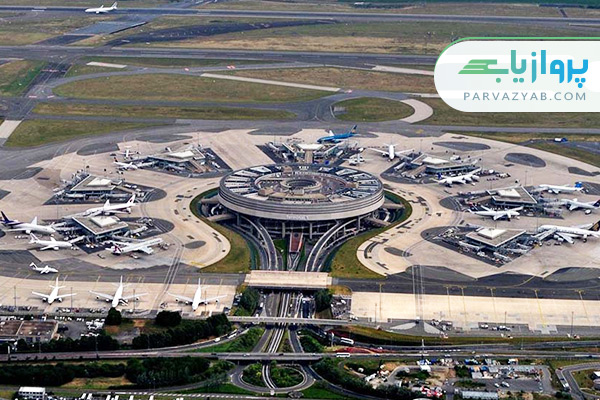 فرودگاه شارل دو گل پاریس