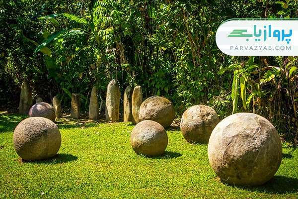 توپ های سنگی کاستاریکا