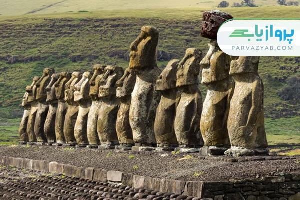 مجسمه های موآی