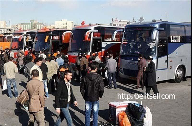 انواع بلیط اتوبوس