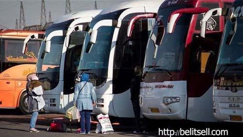رزرو و خرید اینترنتی بلیط اتوبوس