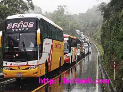رزرو بلیط اتوبوس در شرایط بد جوی