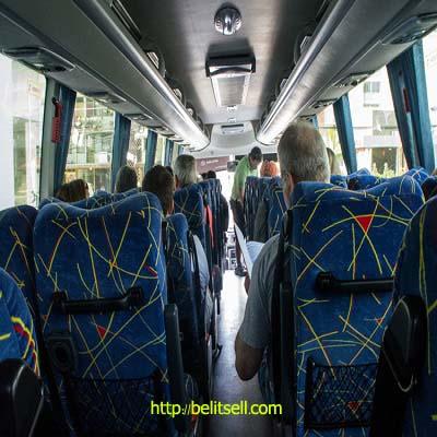 انتخاب آنلاین صندلی اتوبوس