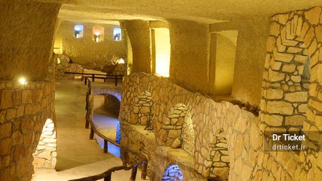 kariz underground city in kish island
