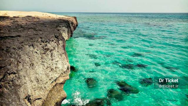 marjan beach kish island