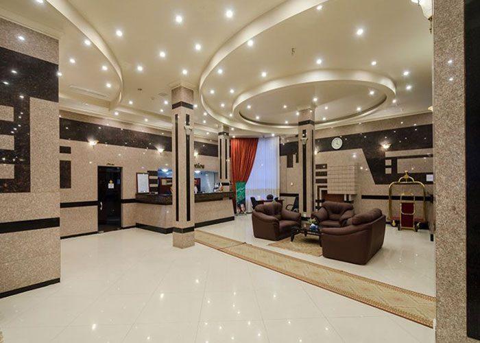 تور مشهد هتل هلیا از تهران