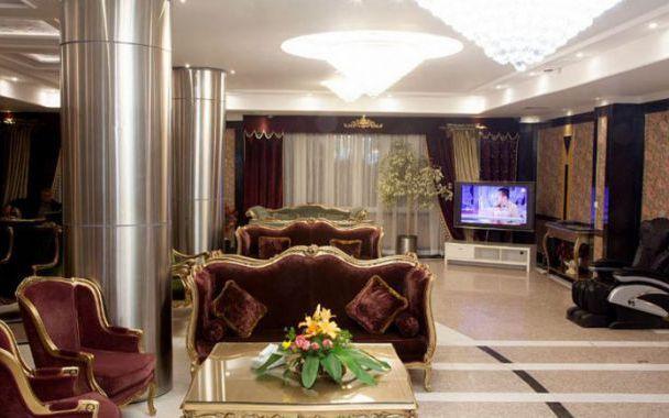 تور مشهد هتل بشری از تهران