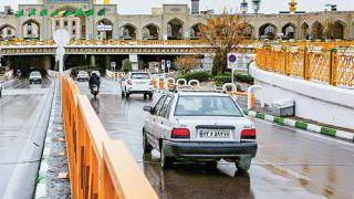 پارکینگ های اطراف حرم مشهد برای زائران و مجاوران