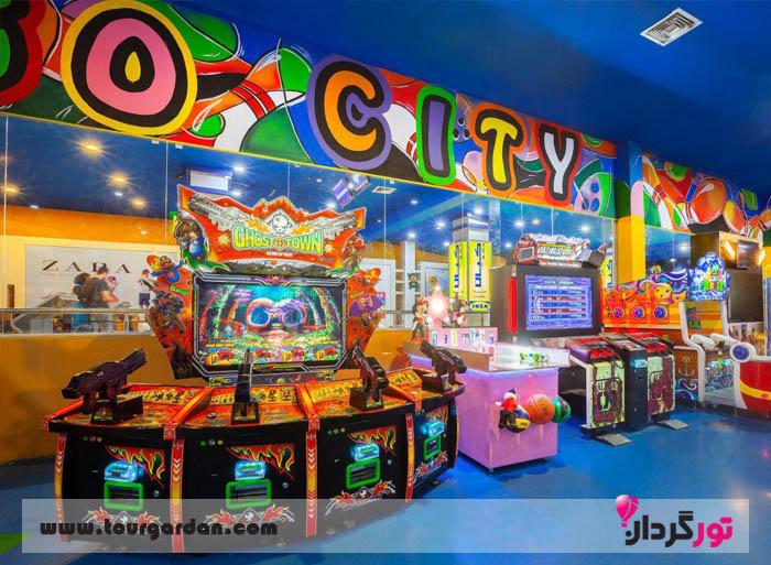 شهر بازی کودکان در مشهد، لگو سیتی