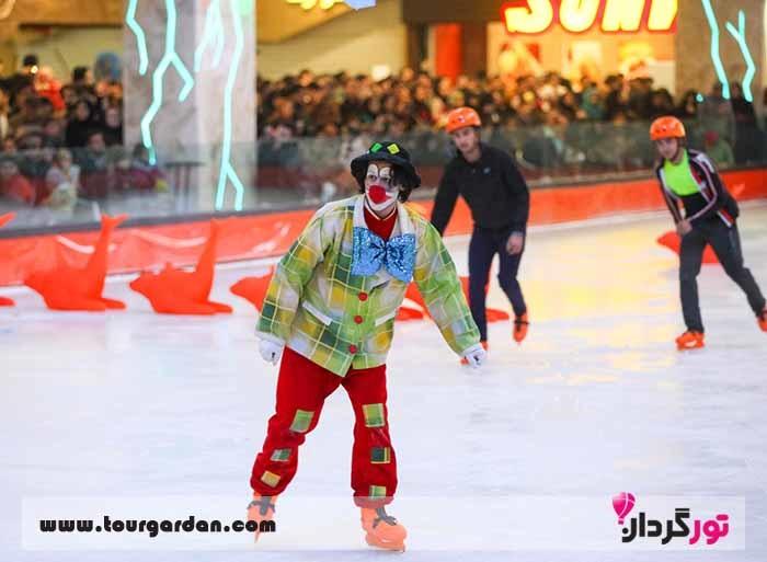 شهر بازی کودکان در مشهد، سالن پاتیناژ پدیده مشهد