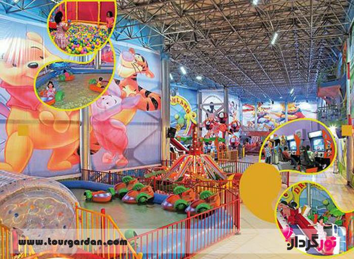 شهر بازی کودکان در مشهد، کلوپ پاندا