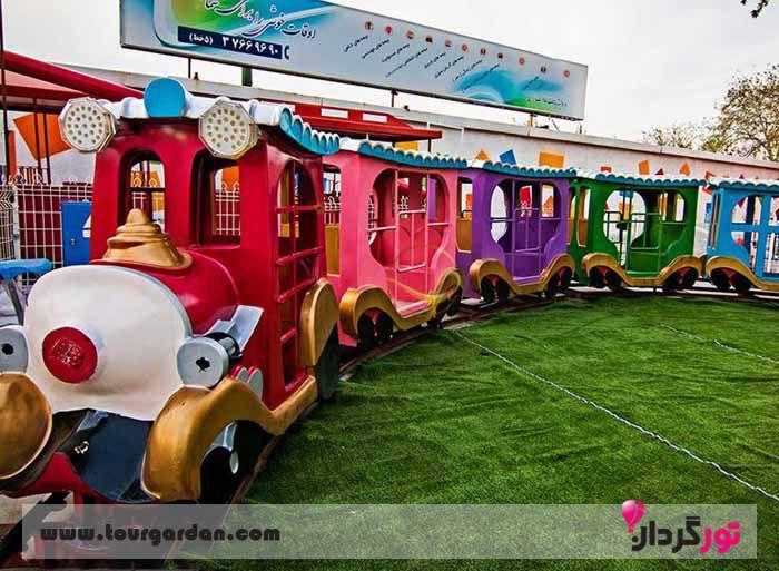 شهر بازی کودکان در مشهد، شهر بازی پارک ملت مشهد