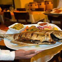 غذاهای کیش : غذاهای محلی، غذاهای دریایی، فست فودها