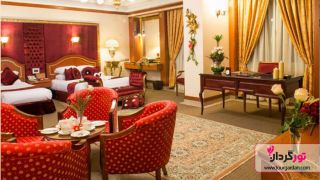 اقامتی شاهانه در هتل بین المللی قصر طلایی مشهد