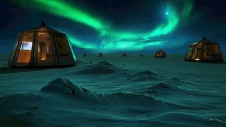 اقامت در شمالی ترین هتل جهان | تور یک میلیاردی قطب شمال