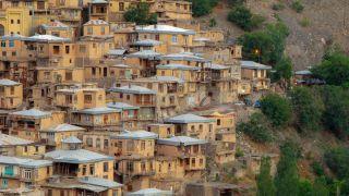 روستای کنگ در طرقبه مشهد ؛ روستایی پلکانی و تاریخی