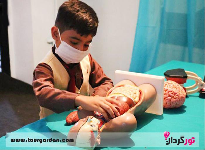 خانه بازی درنا در مشهد برای کودکان