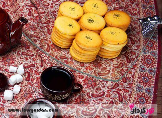 شیرینی های شیراز، نان فسا