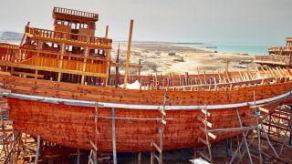 کشتی های چوبی دست ساز در قشم چگونه ساخته می شوند؟