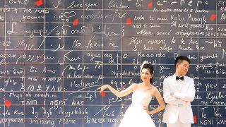 دیوار عشق در شهر عشق و داستان های رومانتیک