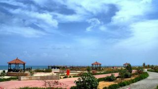 پارک ساحلی میر مهنا کیش بزرگترین پارک ساحلی جزیره