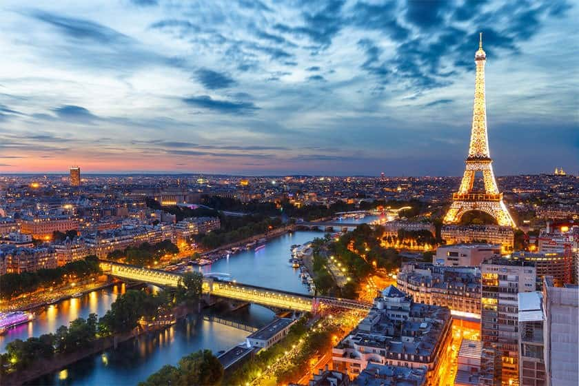 تور پاریس, ونیز و رم نوروز 99