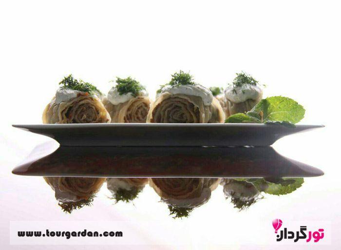 غذای ترکمنی مارال