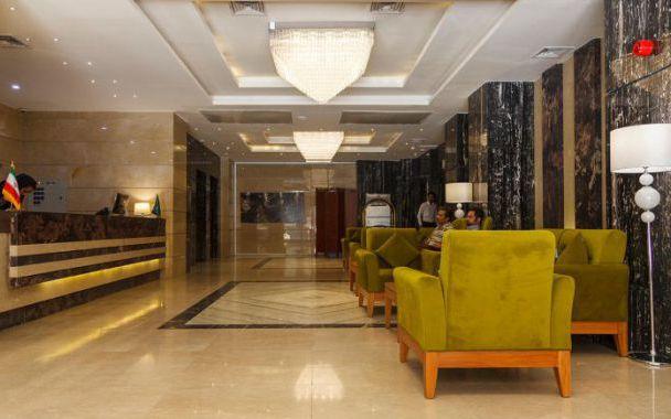 تور مشهد هتل حیات از تهران