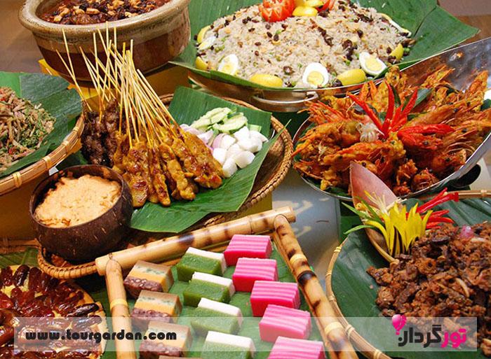 غذای های مالزی
