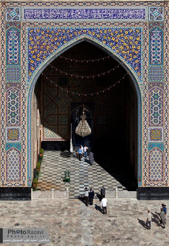 مسجد گوهرشاد در حرم امام رضا