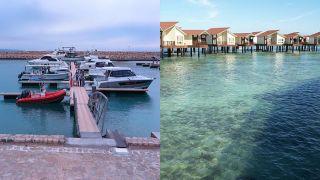 مقایسه دو هتل لوکس ترنج و مارینا پارک کیش | تورگردان