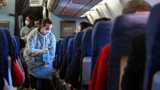 جلوگیری از انتقال ویروس کرونا در هواپیما