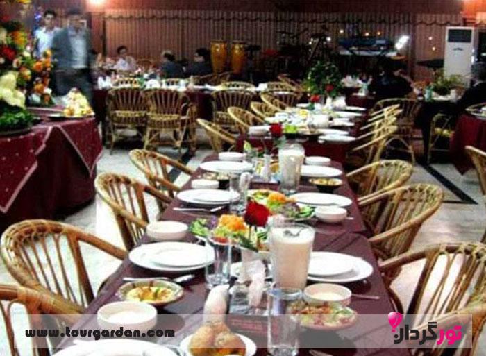 رستوران آبشار کیش