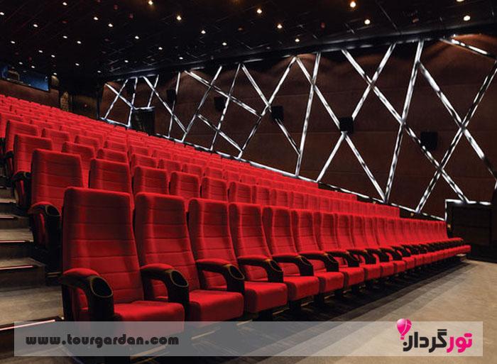سینما در مرکز خرید آرمیتاژ مشهد
