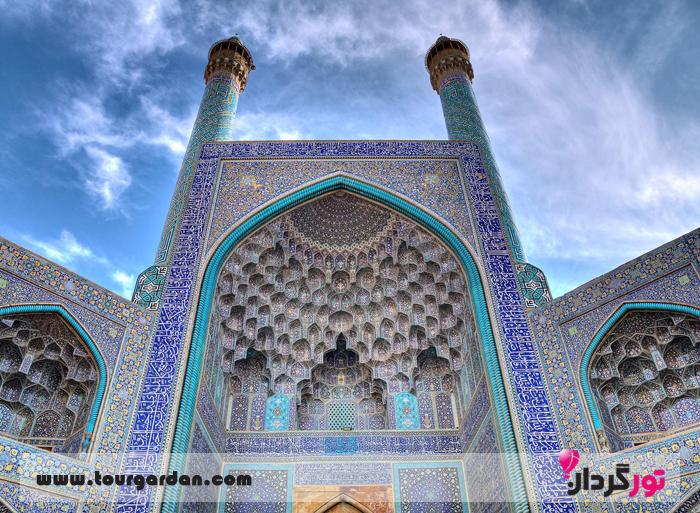 سر در مسجد امام اصفهان