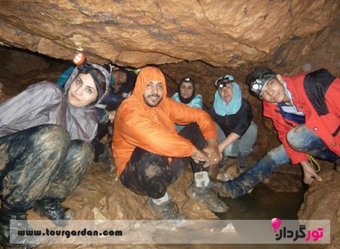 غار سر نی نیشابور