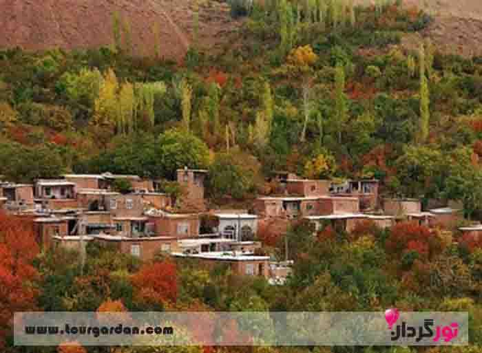 پاییز در روستای بوژان