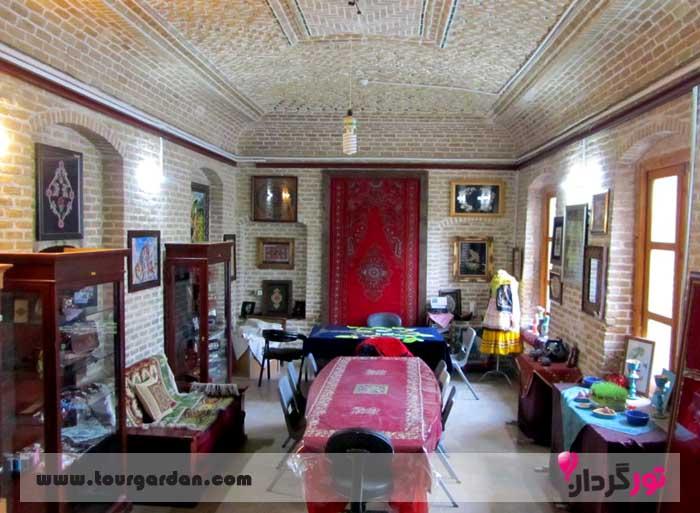 کارگاه سوزن دوزی خانه ملک مشهد