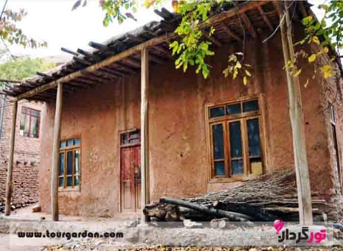 خانه های روستایی بوژان