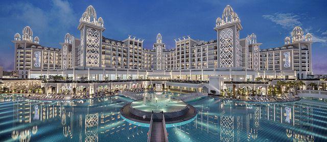 تور آنتالیا از تهران هتل گرانادا لاکچری