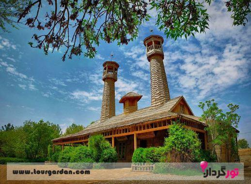 مسجد دهکده چوبین نیشابور