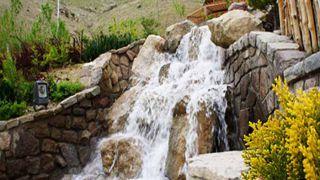 پارک آبشار کیش از بوستان های زیبا و پر طرفدار