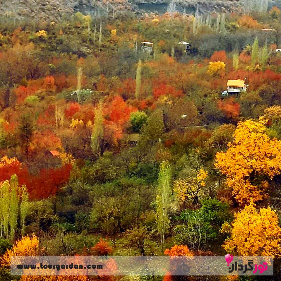 روستای دهبار طرقبه