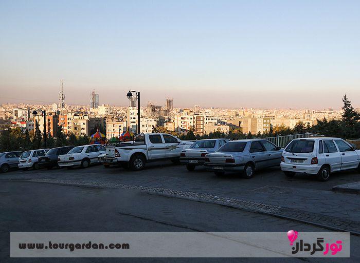پارکینگ قله زو مشهد