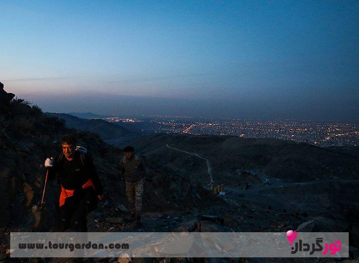صعود به قله زو مشهد