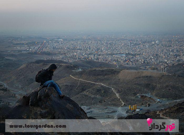 قله زو مشهد