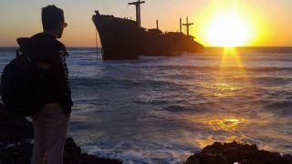 کشتی یونانی کیش با نیم قرن سکونت در جزیره