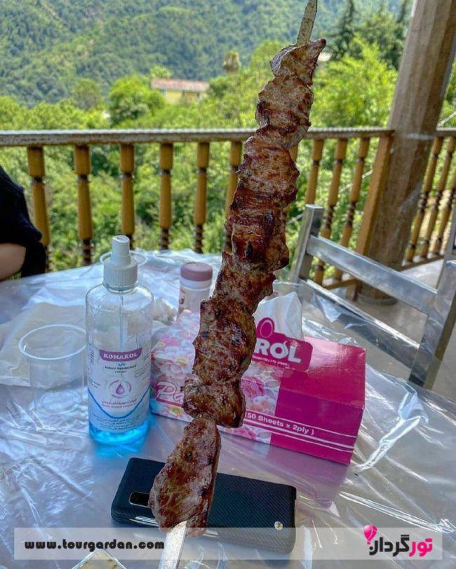 کباب رستوران خاور خانم