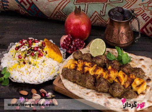 رستوران های مشهد برای غذای کبابی